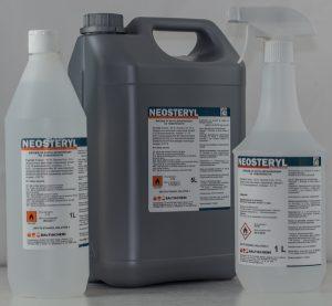 Препарат за бърза дезинфекция на повърхности Neosteryl 1l, 5l